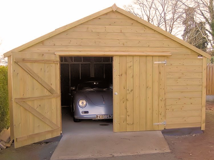 Comment construire un garage en bois bricobistro - Cout construction garage 50m2 ...