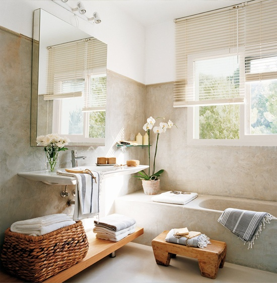 La salle de bain moderne 12 idees simple et chic for Decoration de salle de bain moderne