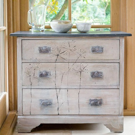 Dressers painted with annie sloan paint for Patiner un meuble