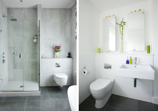 La salle de bain moderne 12 idees simple et chic for Photos decoration salle de bain moderne