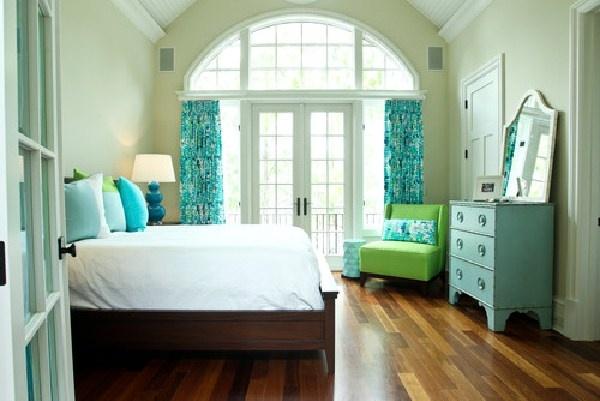 chambre a coucher blue gris - Idees Couleur Chambre