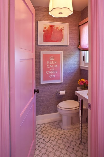 deco wc couler rose