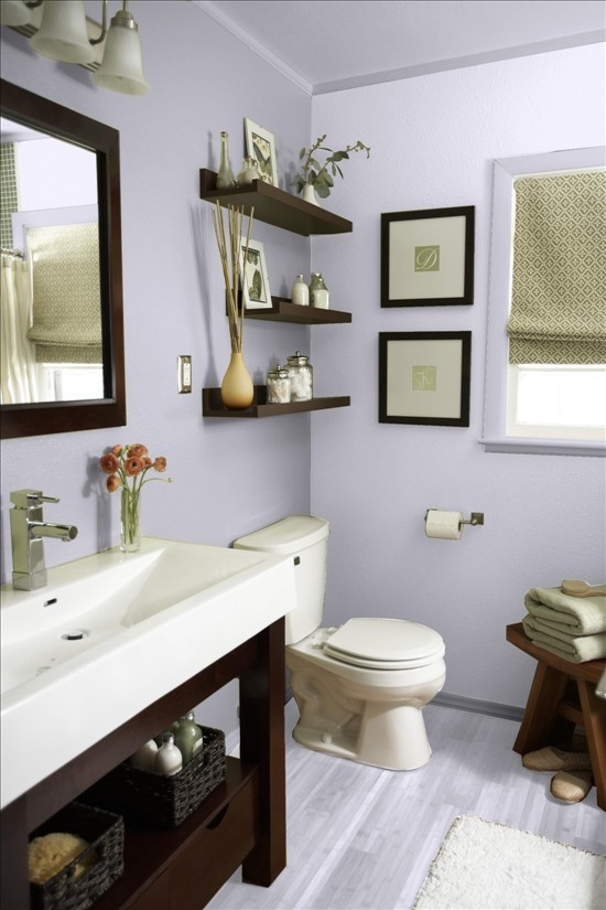 Deco wc 12 idees superbes de decoration toilette bricobistro - Decoration de toilettes zen ...