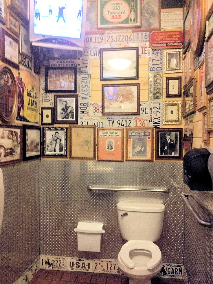 11 id es deco wc super cool bricobistro - Decoration des toilettes design ...