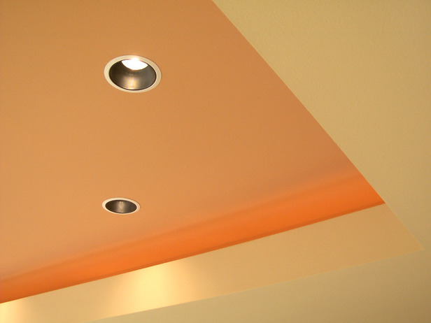 spots plafond  Amenagement sous sol en surface habitable