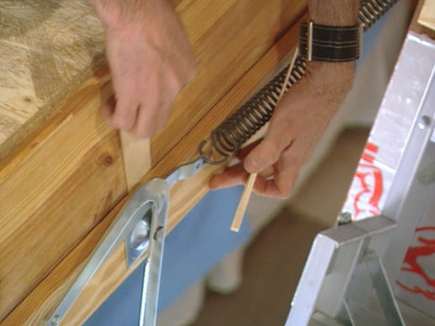 Installation échelle de grenier
