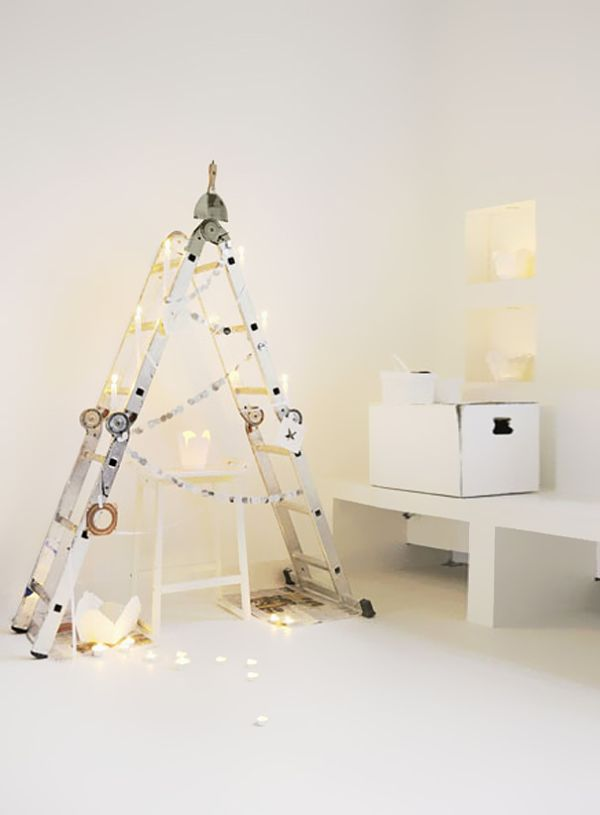 diy_christmas_trees_ladder