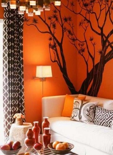 sticker mural  arbre