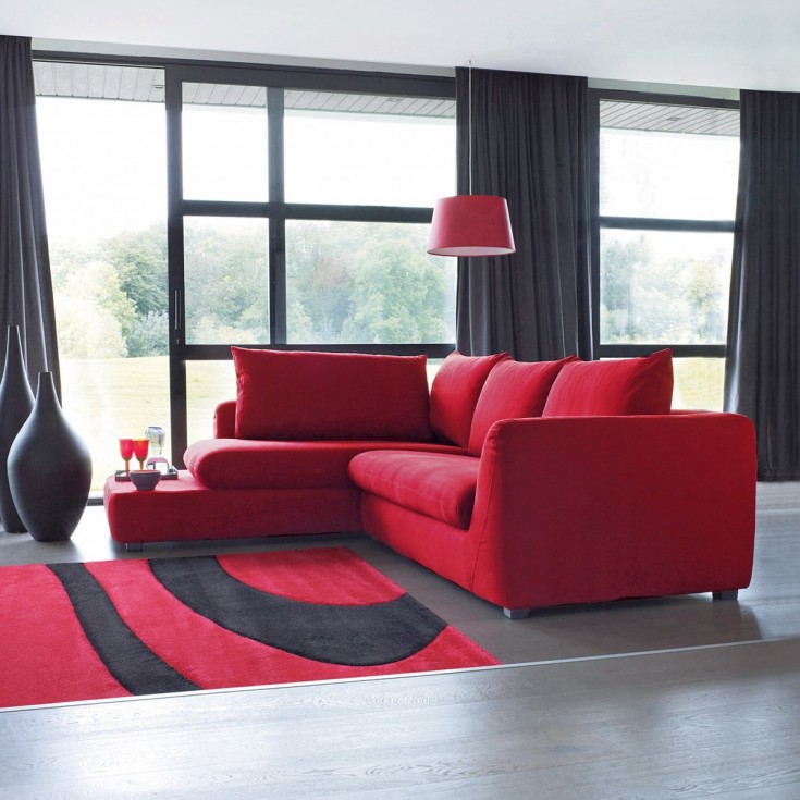 du rouge dans votre d coration bricobistro. Black Bedroom Furniture Sets. Home Design Ideas