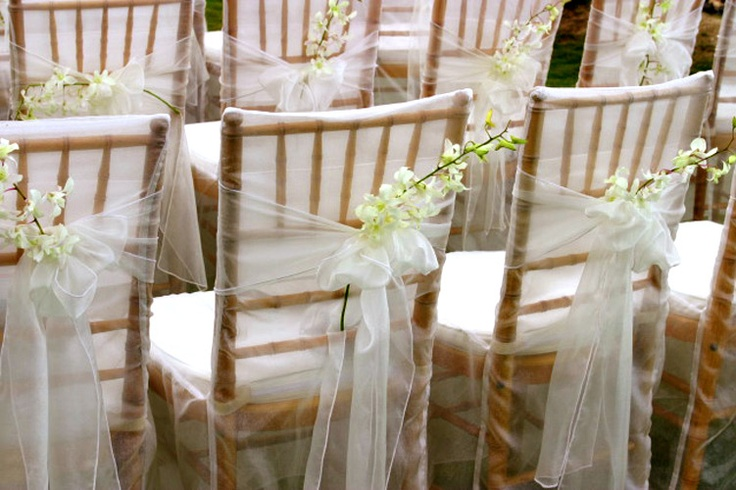 decoration mariage chaise