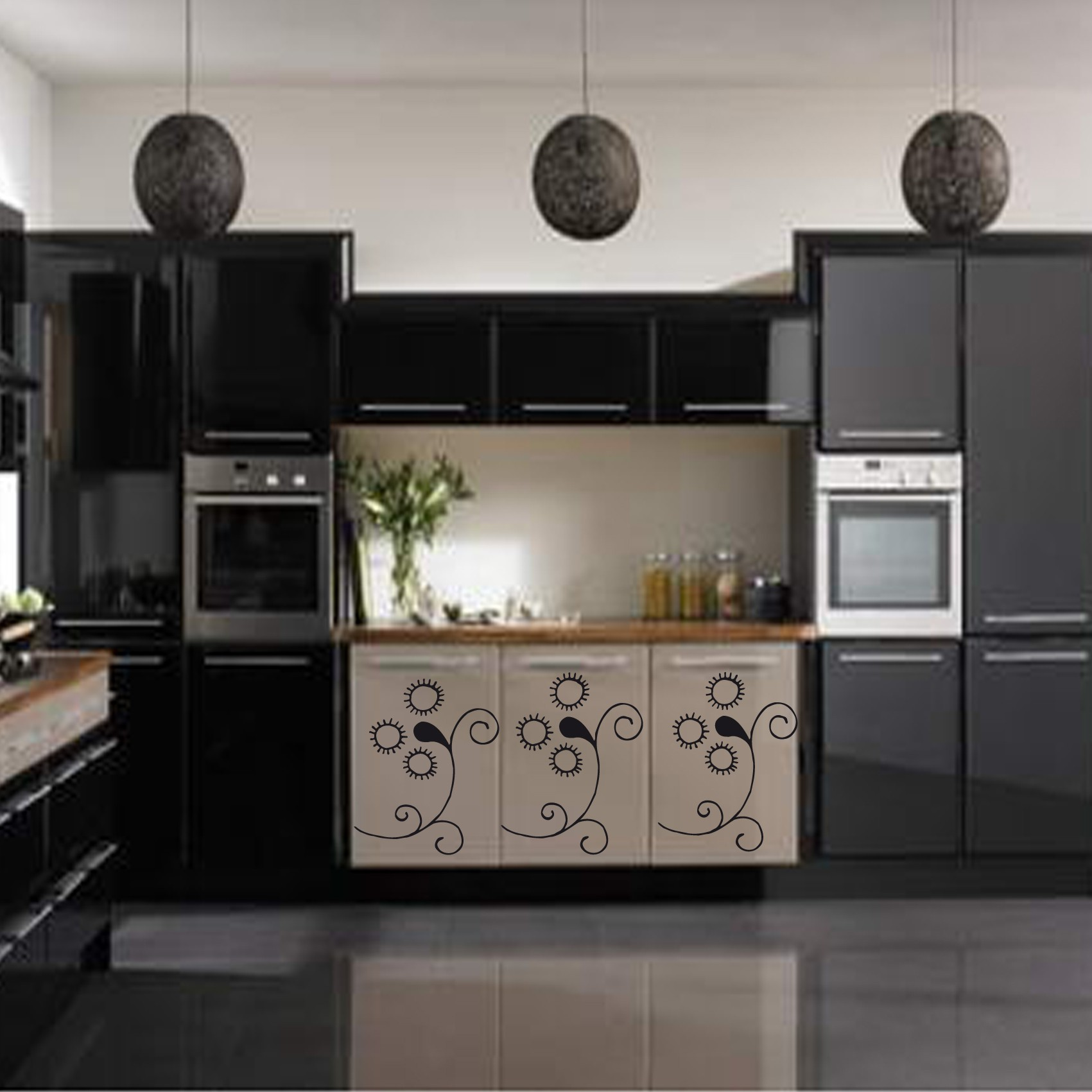 revetement pour meuble de cuisine comment rajeunir une cuisine moche crdence carrelage meuble. Black Bedroom Furniture Sets. Home Design Ideas