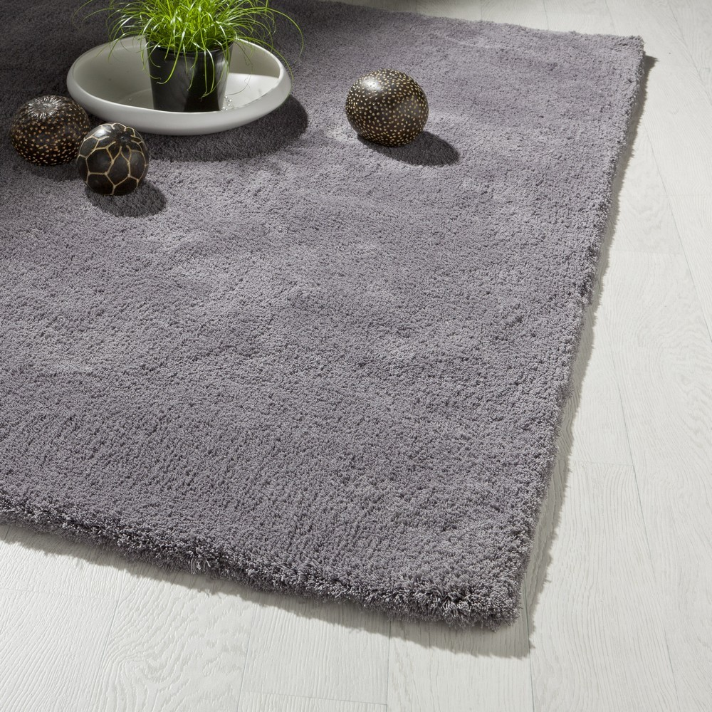 Comment choisir le tapis de son salon bricobistro - Tapis salon gris ...