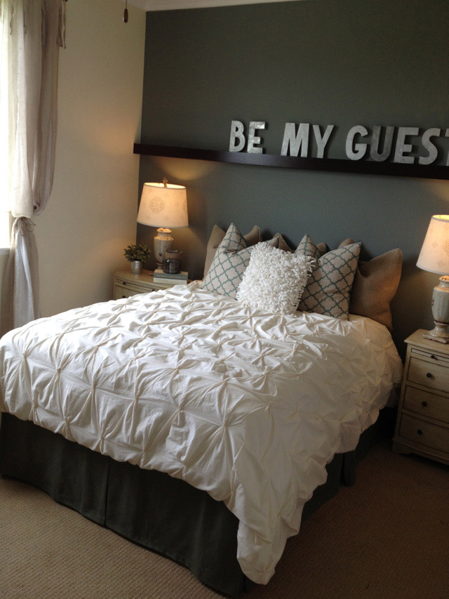 Id es d 39 am nagement et de d co d 39 une chambre d 39 amis for Bedroom ideas on pinterest