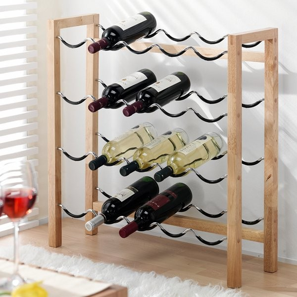 etagere bouteille de vin. Black Bedroom Furniture Sets. Home Design Ideas