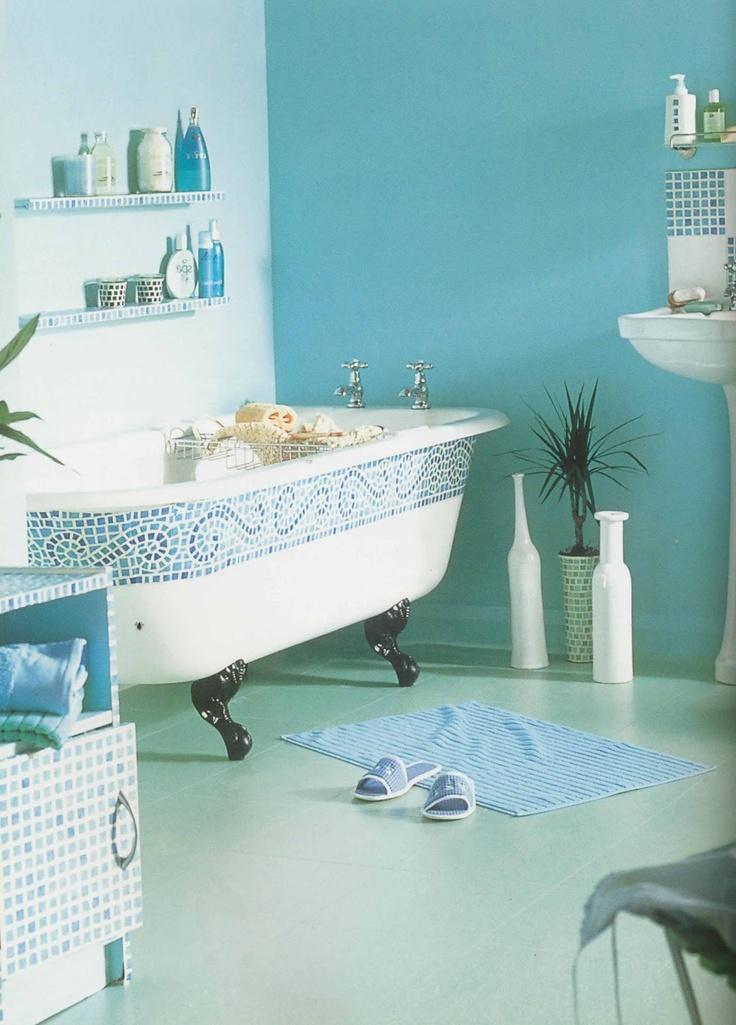 d couvrez les derni res tendances de couleurs pour la salle de bain bricobistro. Black Bedroom Furniture Sets. Home Design Ideas