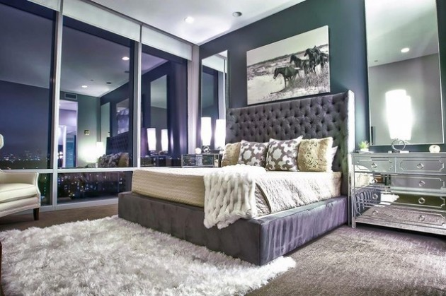 chambre femme glamour