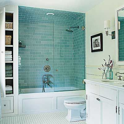 Best Salle De Bain Bleu Turquoise Gallery - Awesome Interior Home ...