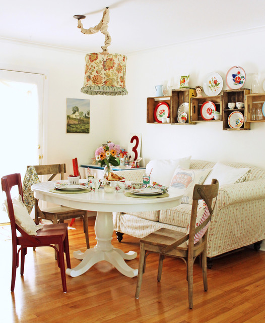 Des id es de salle manger anglaise au style campagne for Chaises salle manger style anglais