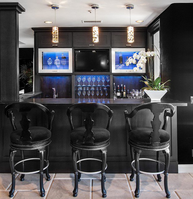 15 Best Ideas About Home Bar Designs On Pinterest: Des Idées De Bar Moderne Pour Votre Maison