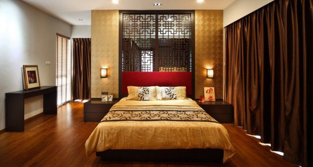 d coration chambre asiatique. Black Bedroom Furniture Sets. Home Design Ideas