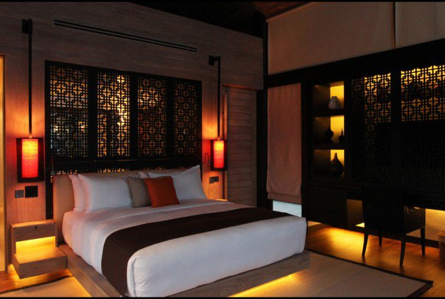 10 des d corations de chambre asiatique les plus relaxantes bricobistro. Black Bedroom Furniture Sets. Home Design Ideas
