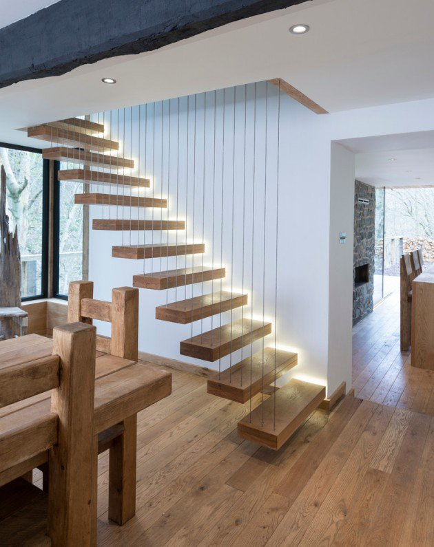 escalier contemporain (2)