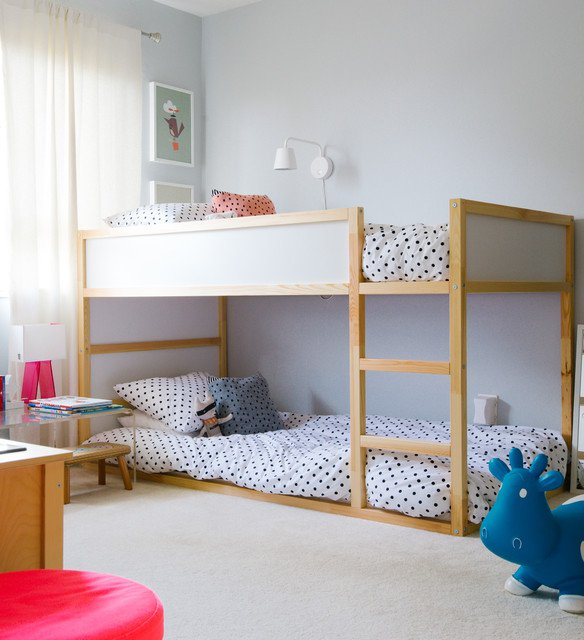 10 id es de lits superpos s pour le confort de vos enfants bricobistro. Black Bedroom Furniture Sets. Home Design Ideas