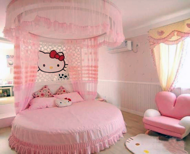 Comment d corer la chambre des fans de hello kitty for Chambre hello kitty