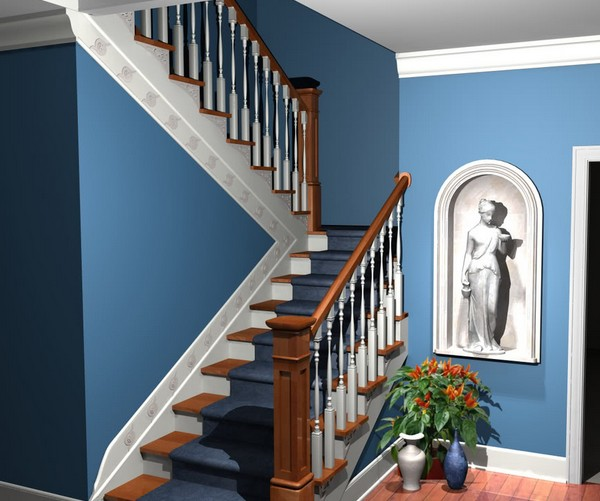 comment peindre un escalier good peinture comment peindre un escalier dans deco with comment. Black Bedroom Furniture Sets. Home Design Ideas