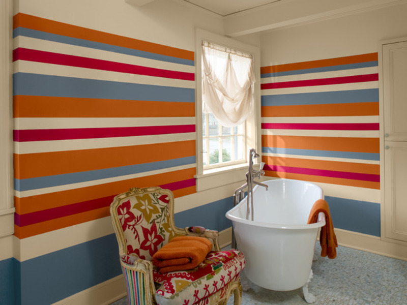 wall painting designs stripes, wall, wall painting design
