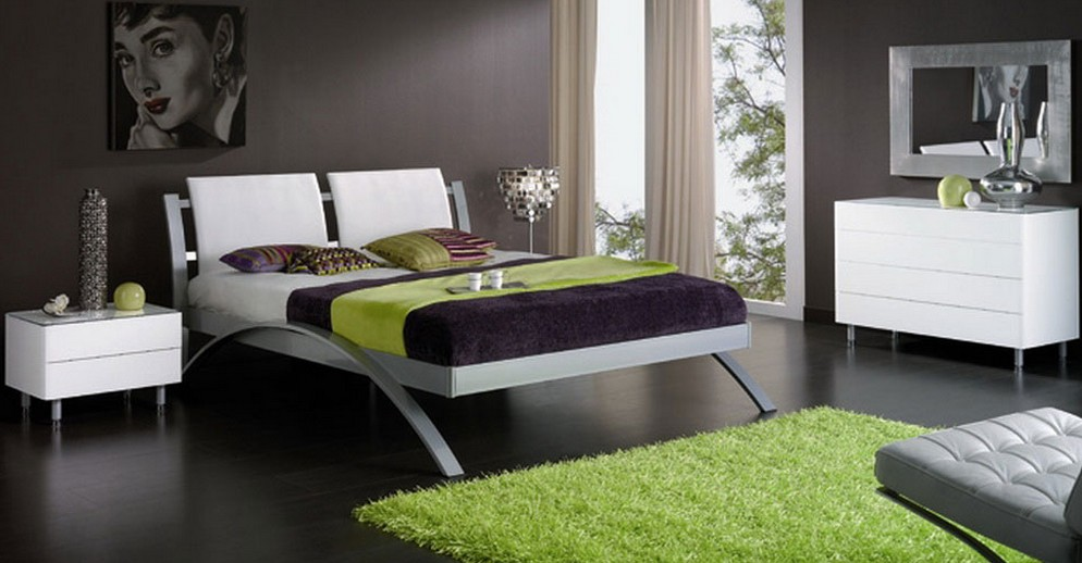 quelle couleur choisir pour une chambre coucher moderne bricobistro. Black Bedroom Furniture Sets. Home Design Ideas