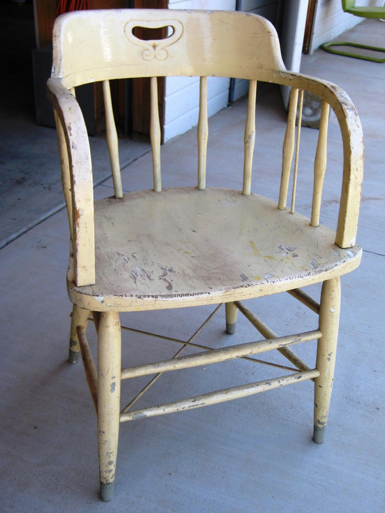 peindre chaise1