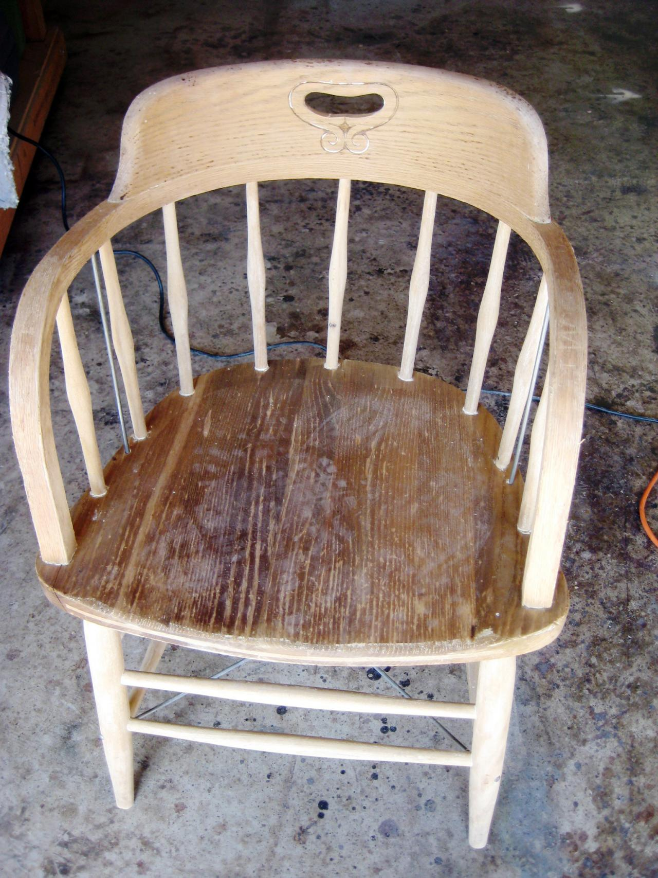 peindre chaise11