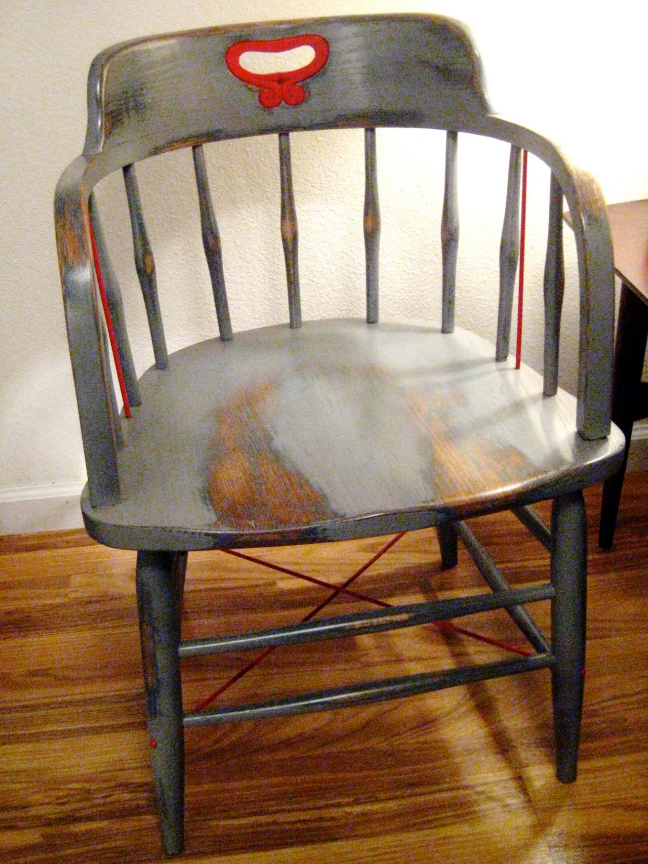 Quick And Easy Chair Refinishing Painted Wood