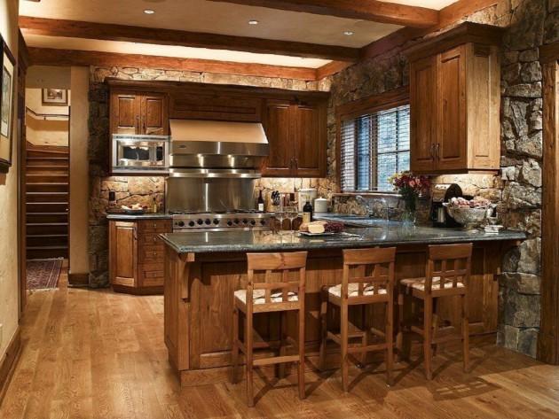 Des Idees De Cuisine Rustique Moderne Bricobistro