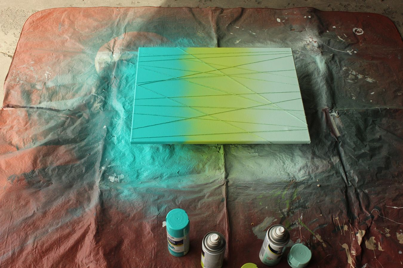 diy art abstrait6