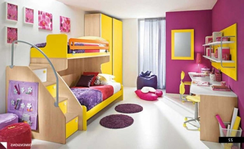 Chambre bebe jaune orange ~ Design de maison