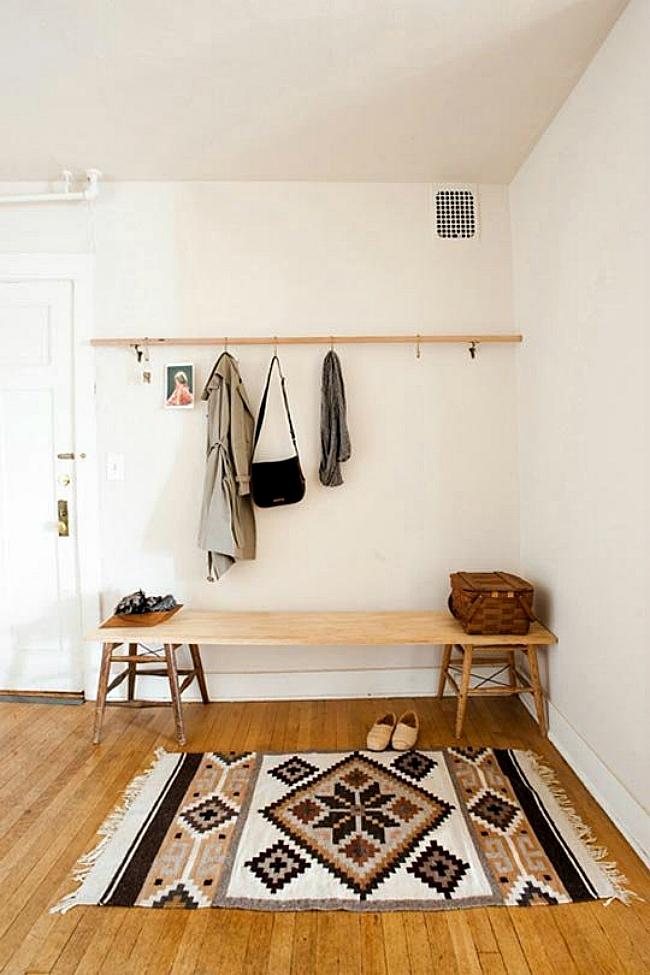 Foyer Seating Zones : Créer un hall d entrée là où il n y en pas bricobistro