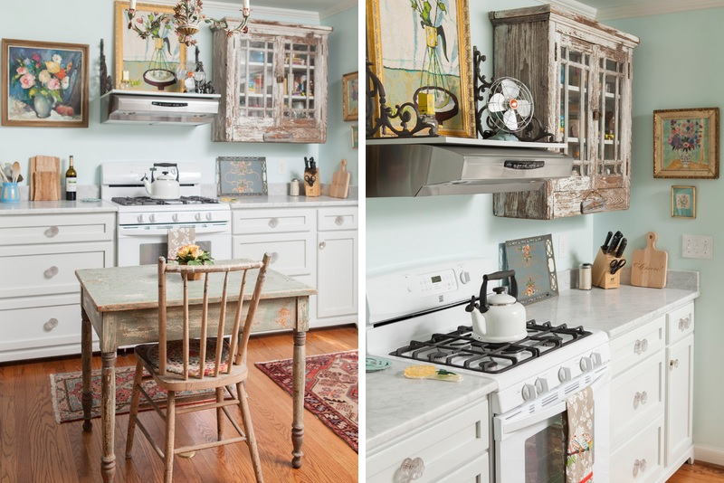Pinterest White Kitchen Shabby Chic