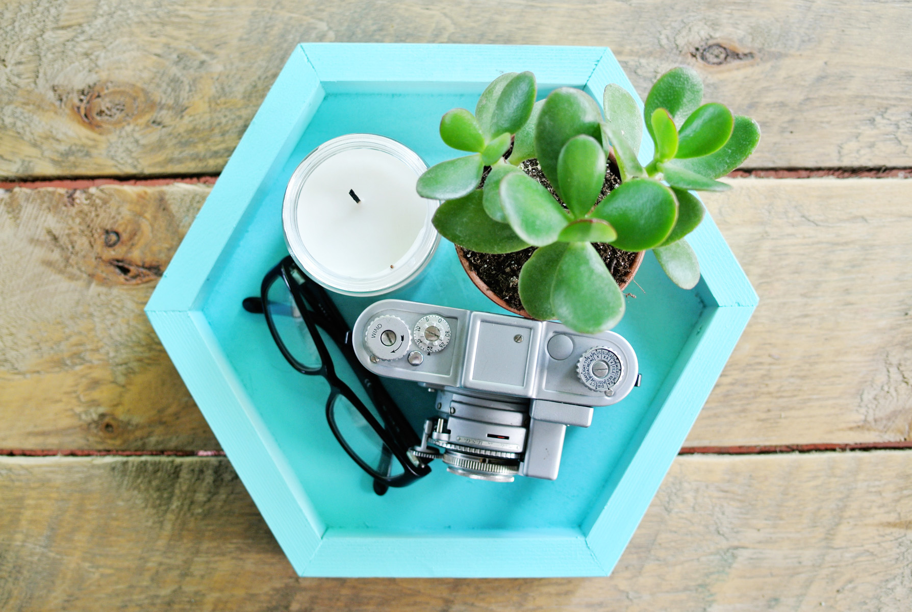 diy plateau hexagonal1