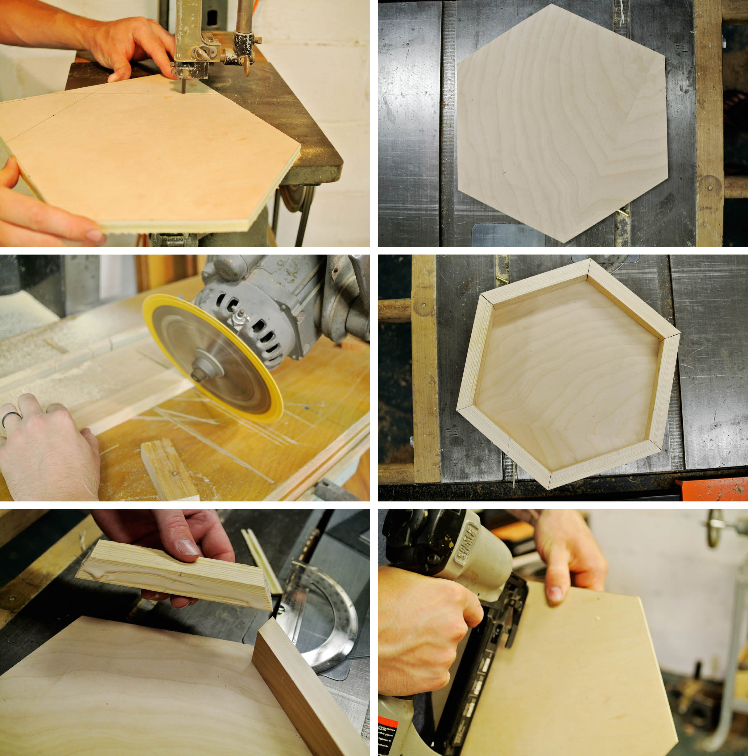 diy plateau hexagonal5