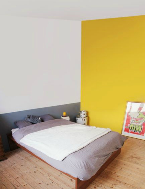 Beautiful Chambre Mur Jaune Moutarde Gallery - Home Decorating ...