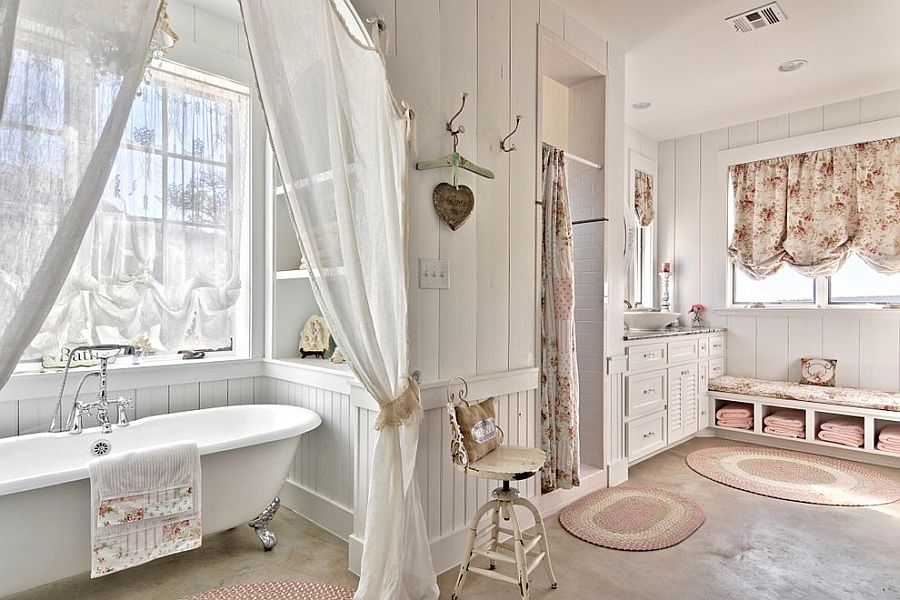 Shabby Chic Bathroom – Vintage Look in the Bathroom Stylishly Staging