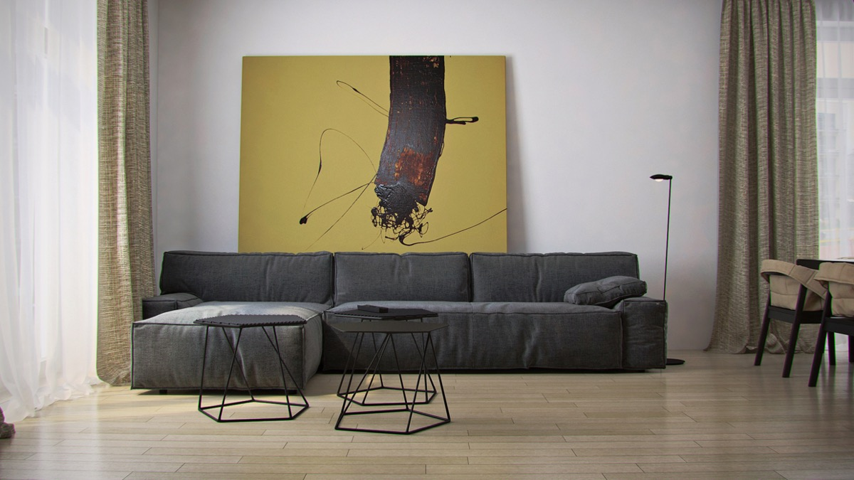 des id es inspirantes de toiles murales grand format pour. Black Bedroom Furniture Sets. Home Design Ideas