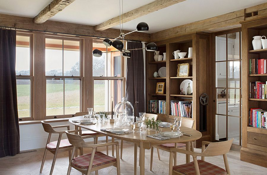 Salle manger 10 id es de d co style campagne chic for Salle a manger 2016