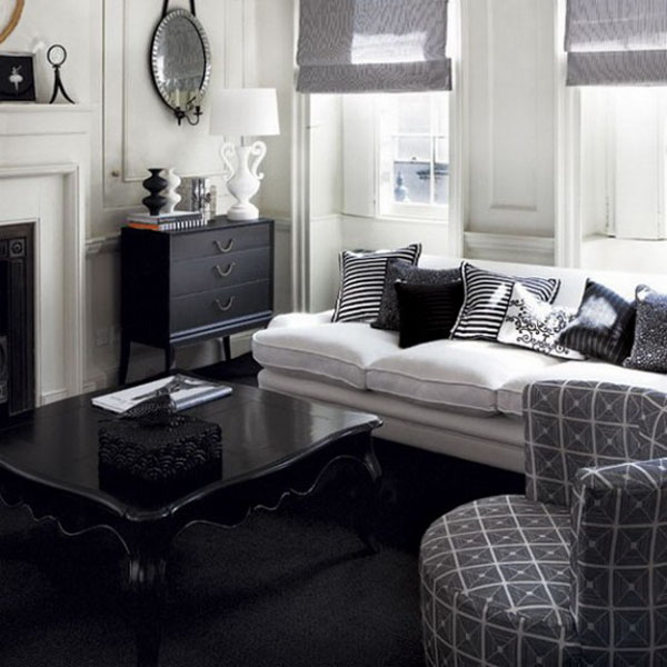 Living Room Small Apartment Color Schemes Bright Starting Fresh Hovey Design Black And White