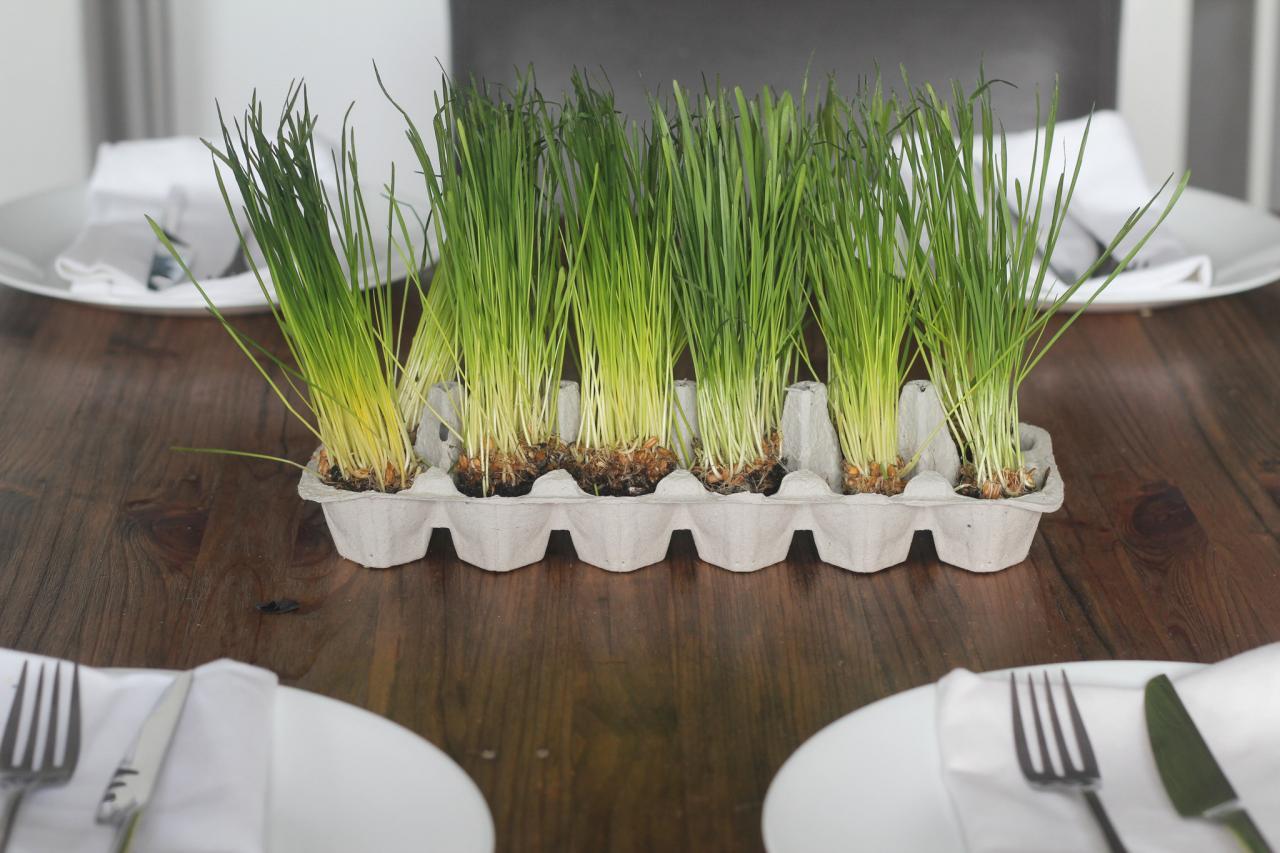 Comment r aliser un centre de table sans utiliser des - Comment utiliser les couverts a table ...