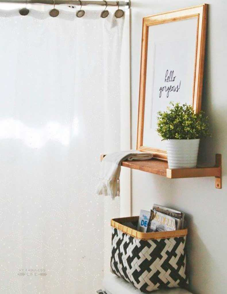 10 mani res de faire ressortir la beaut d 39 un oeuvre d 39 art for Bathroom storage ideas b q