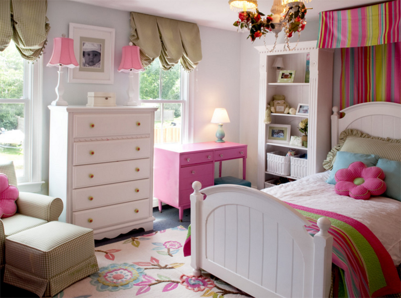 chambre fille traditionnelle1