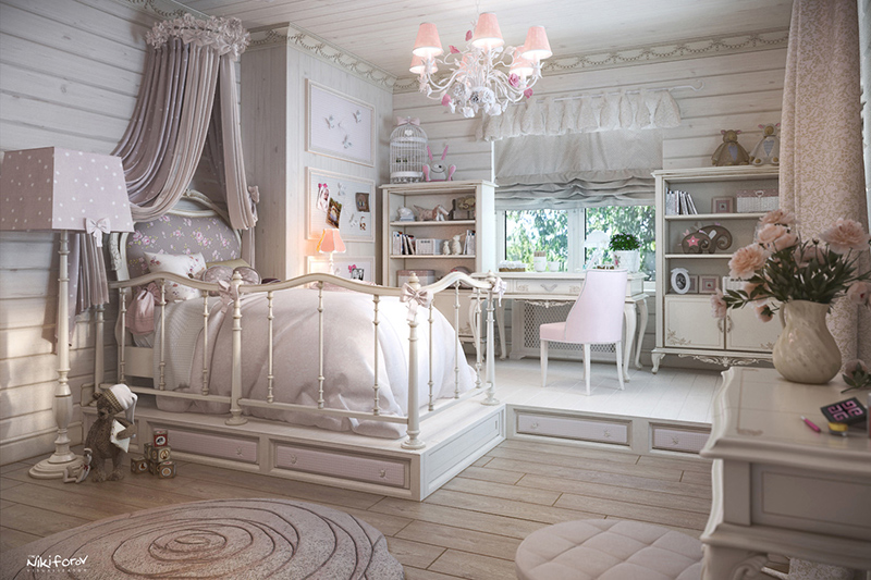 chambre fille traditionnelle9